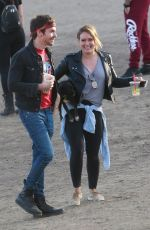HILARY DUFF and Matthew Koma Out in Los Angeles 11/18/2017