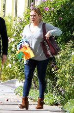 HILARY DUFF and Mike Comrie Out in Los Angeles 11/20/2017