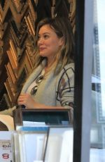 HILARY DUFF at a Frame Store in Studio City 11/03/2017