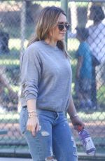 HILARY DUFF Grabbing a Gatorade in Studio City 11/18/2017
