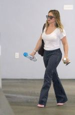 HILARY DUFF Out in Beverly Hills 11/28/2017