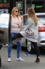 HILARY DUFF Out Shopping in Studio City 11/03/2017