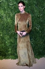 HILARY RHODA at 14th Annual Cfda/Vogue Fashion Fund Awards in New York 11/06/2017
