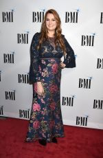 HILARY WILLIAMS at 65th Annual BMI Country Awards in Nashville 11/07/2017