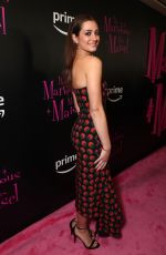 HOLLY CURRAN at The Marvelous Mrs. Maisel TV SERIES Premiere in New York 11/13/2017