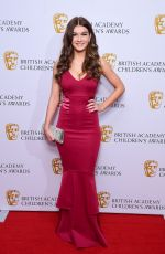 HOLLY TANDY at Bafta Children's Awards 2017 in London 11/26/2017