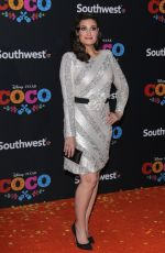IDINA MENZEL at Coco Premiere in Los Angeles 11/08/2017