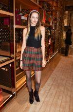 IDINA MONCREIFFE at Louis Vuitton x Vogue Party in London 11/21/2017