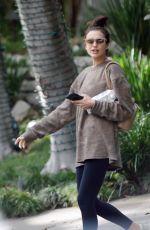 IRINA SHAYK Leaves a Gym in Los Angeles 11/20/2017