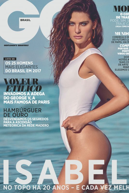 ISABELI FONTANA in GQ Magazine, Brazil November 2017