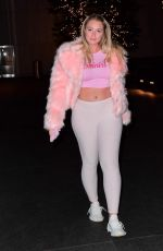 ISKRA LAWRENCE Night Out in New York 11/15/2017