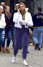 ISKRA LAWRENCE Out and About in New York 11/08/2017