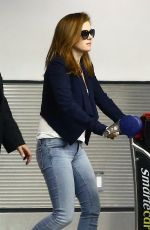 ISLA FISHER Arrives at Airport in Miami 10/31/2017