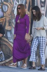 ISLA FISHER on the Set of The Beach Bum in Miami 11/01/2017