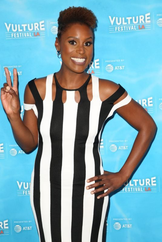 ISSA RAE at Vulture Festival's Wine Down with Insecure's Issa Rae in Hollywood 11/18/2017