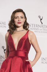 ITALIA RICCI at 2017 International Emmy Awards in New York 11/20/2017