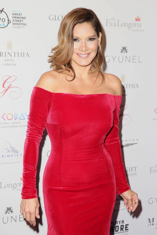 IVONNE REYES at Global Gift Gala in London 11/18/2017