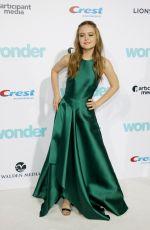 IZABELA VIDOVIC at Wonder Premiere in Los Angeles 11/14/2017