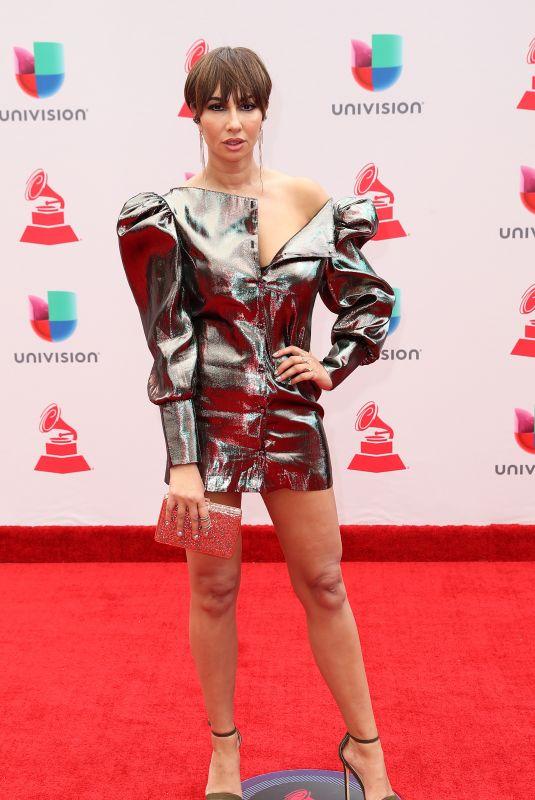 JACKIE CRUZ at Latin Grammy Awards 2017 in Las Vegas 11/16/2017