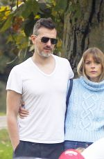 JAIME KING and Her Husband Kyle Newman Show Soccer Skills 11/05/2017
