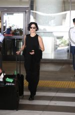JAIMIE ALEXANDER at LAX Airport in Los Angeles 11/22/2017