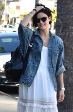 JAIMIE ALEXANDER Out in Los Angeles 11/05/2017