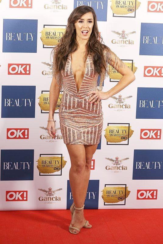 JANETTE MANRARA at OK! Magazine Beauty Awards in London 11/28/2017