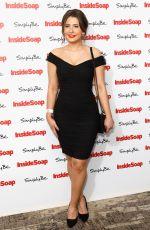 JASMINE ARMFIELD at Inside Soap Awards 2017 in London 11/06/2017