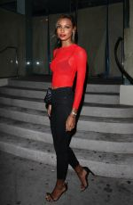 JASMINE TOOKES at Catch LA in West Hollywood 11/04/2017
