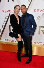 JASMONE SANDERS at #revolveawards in Hollywood 11/02/2017