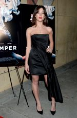 JAZZY DE LISSER at Thumper Premiere in Los Angeles 10/30/2017