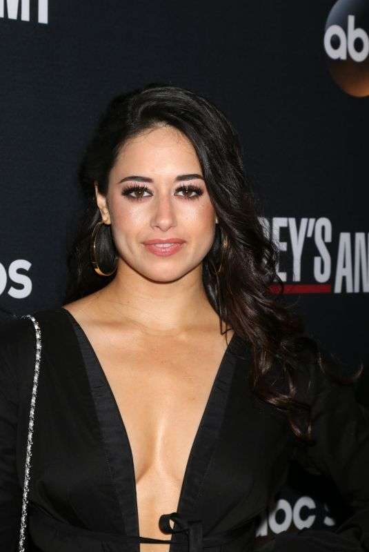 JEANINE MASON at 300th Grey's Anatomy Episode Celebration in Hollywood 11/04/2017