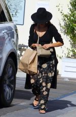 JENNA DEWAN Out Shopping in Los Angeles 11/21/2017
