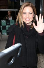 JENNA FISCHER Out and About in New York 11/141/2017