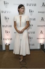 JENNA LOUISE COLEMAN at Harper's Bazaar Women of the Year Awards in London 11/02/2017