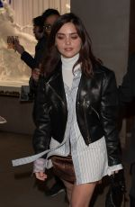 JENNA LOUISE COLEMAN Leaves Vogue Gingernutz Event in London 11/21/2017