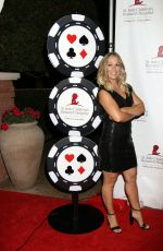 JENNIE GARTH at St. Jude Against All Odds Celebrity Poker Tournament in Las Vegas 11/03/2017