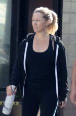 JENNIE GARTH Leaves a Gym in Los Angeles 11/13/2017