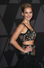JENNIFER LAWRENCE at AMPAS 9th Annual Governors Awards in Hollywood 11/11/2017