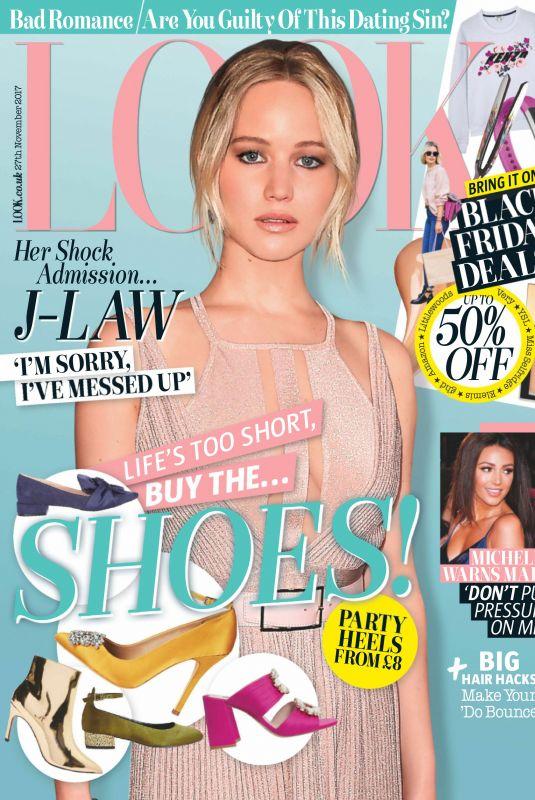 JENNIFER LAWRENCE in Look Magazine, November 2017