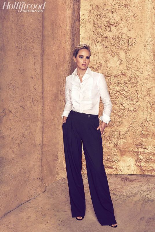 JENNIFER LAWRENCE in The Hollywood Reporter Roundtable, November Issue 2017