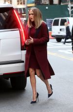 JENNIFER LOPEZ Arrives on the Set of Second Act in New York 11/20/2017