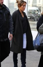 JENNIFER LOPEZ on the Set of Second Act in New York 10/30/2017