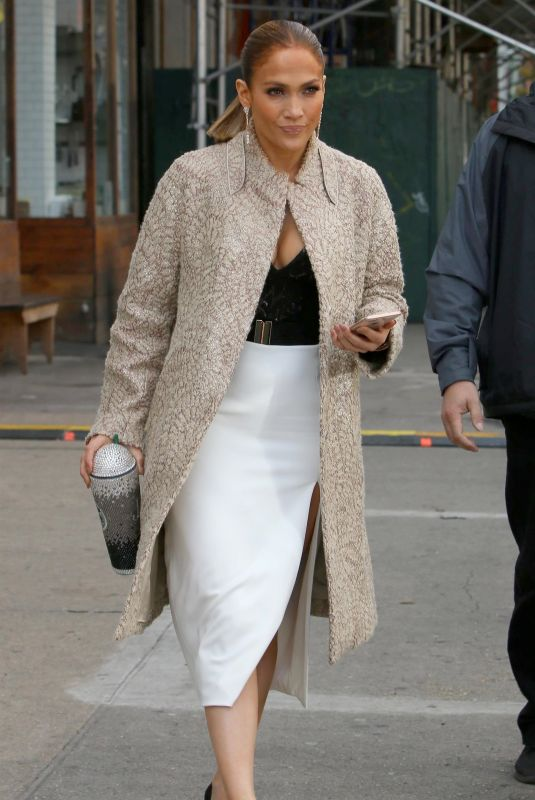 JENNIFER LOPEZ Out and About in New York 10/30/2017