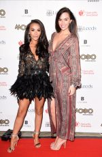 JENNY METCALFE and CHELSEE HEALEY at 2017 The Mobo Awards in Leeds 11/29/2017