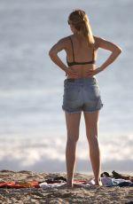 JESINTA FRANKLIN in Bikini at a Beach in Venice 11/06/2017