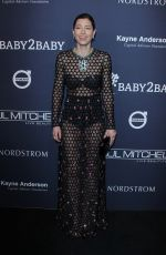 JESSICA BIEL at 2017 Baby2baby Gala in Los Angeles 11/11/2017