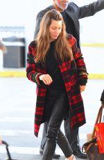 JESSICA BIEL at JFK Airport in New York 11/05/2017