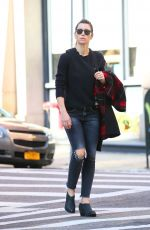 JESSICA BIEL Out in New York 11/06/2017