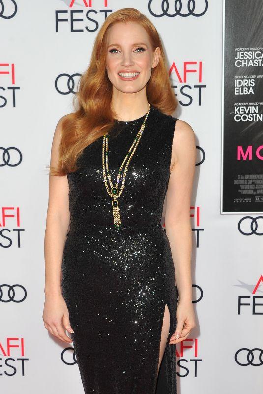 JESSICA CHASTAIN at Closing Night Gala Screening of Molly